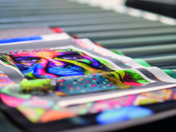 Tissu  impression Sublimation
